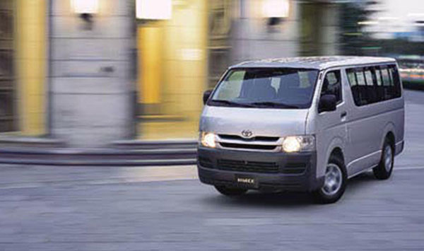 Toyota Hiace. thousands of toyota hiace