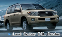 TOYOTA LAND CRUISER DSL Grades