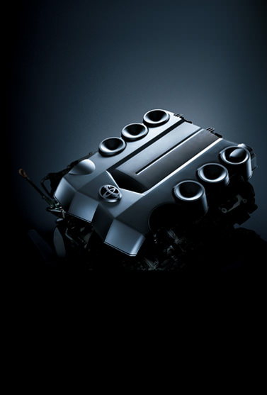 4.0 L V6 Dual VVT-i Engine with 271 HP