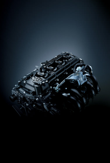 2.7 L VVT-i Engine with 163 HP