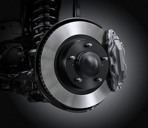 Front & Rear Ventilated Disc Brakes