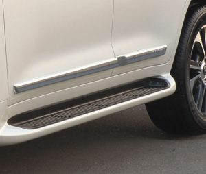 Chrome Side Protection Moulding