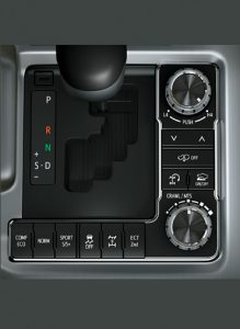 Crawl Control with Turn Assist, Active Height Control, Hill Assist, Active Traction Control and Drive Modes